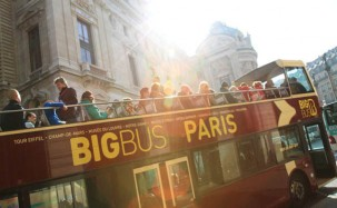 Paris Hop-on Hop-off buss